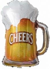 К Фигура, Пиво в кружке, 29''/74см.