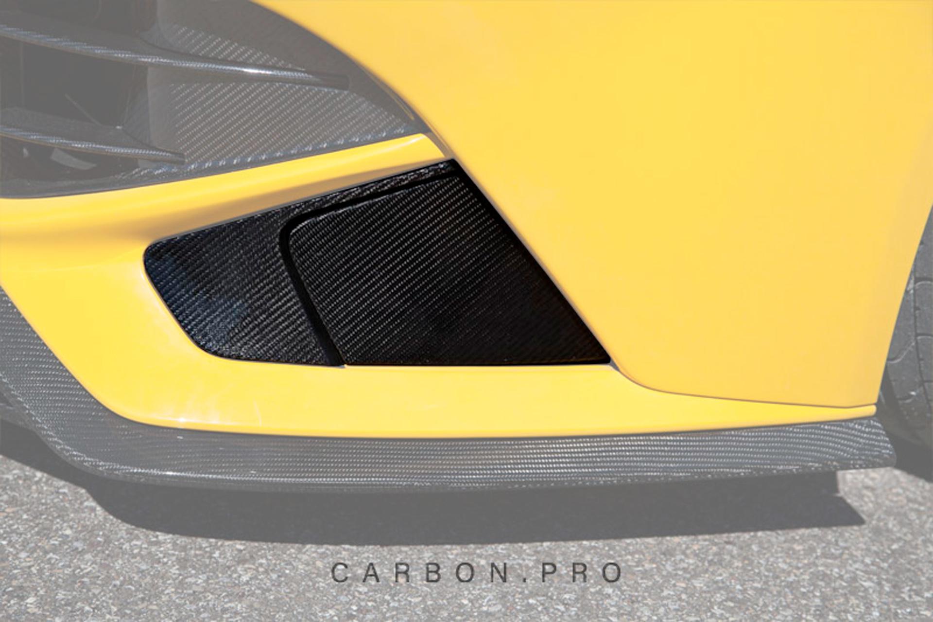 Карбоновые накладки на воздухозаборники переднего бампера Novitec Style для Ferrari F12 Вerlinetta