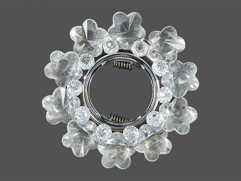 Встраиваемый Светильник D3256-WH+CH Белый+Хром