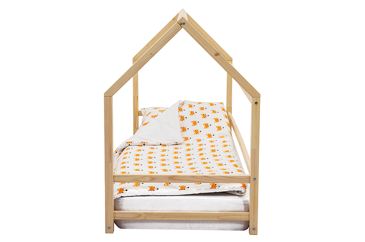 Кровать-домик Монтессори «Svogen» натура