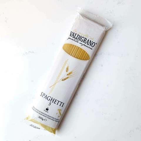 Макароны 5 Spaghetti, Valdigrano, 500 гр