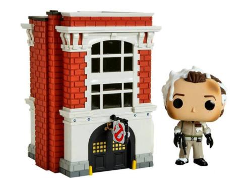 Peter Venkman with firehouse (03) Ghostbusters Funko Pop! || Питер Венкман с пожарной станцией