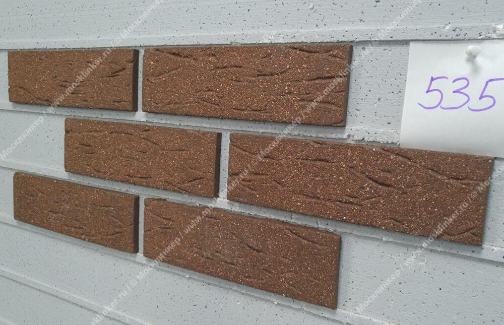 Feldhaus Klinker - R535NF9, Classic Terra Mana, 240x9x71 - Клинкерная плитка для фасада и внутренней отделки
