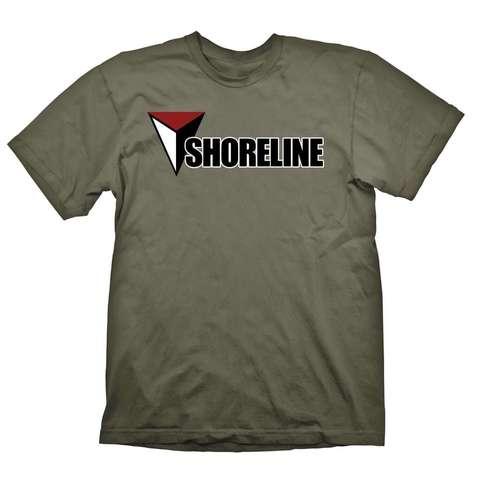 Футболка Uncharted 4 Shoreline (Army)