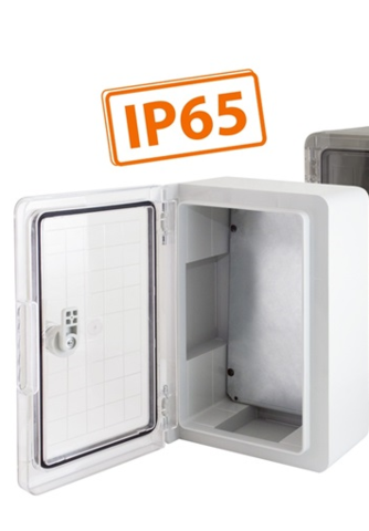 Бокс пластиковый ЩМП-0-1, ABS, IP65, -45 до +75 С, навесной, (300x200x130) TDM