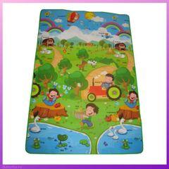 Рулонный коврик для детей
