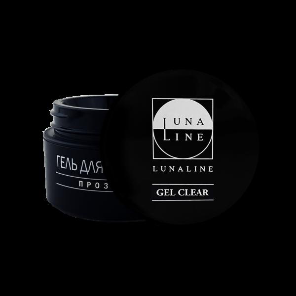 Гель однофазный прозрачный, LunaLine, 15 гр
