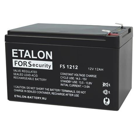 Аккумулятор ETALON FS 1212