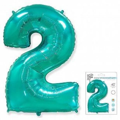 Цифра два - тиффани