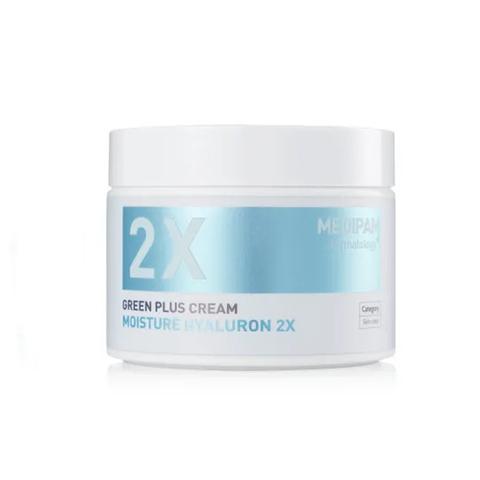 MEDIPAM Крем Двойной уход для увлажнения с гиалуроновой кислотой (100мл) / Green Plus 2x Cream Moisture Hyaluron