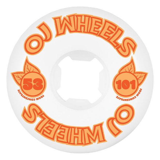 Колёса для скейтборда OJ From Concentrate Hardline 101A (Orange)