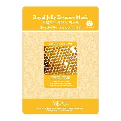 Тканевая маска с пчелиным маточным молочком Mijin Cosmetic MJ Care On Royal Jelly Mask