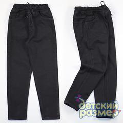 Утепленные брюки на резинке