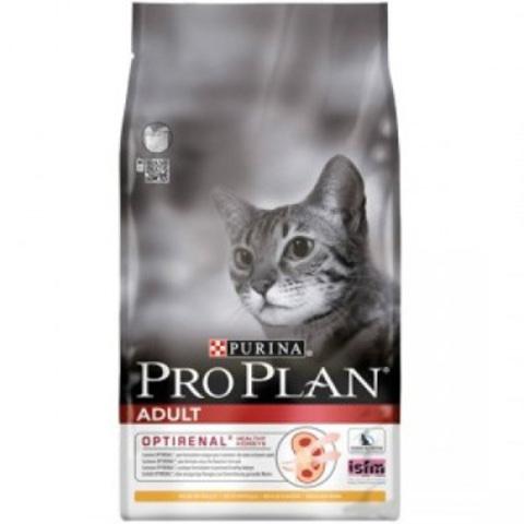 10 кг. PURINA PRO PLAN Сухой корм для взрослых кошек с курицей и рисом Adult Chicken&Rice