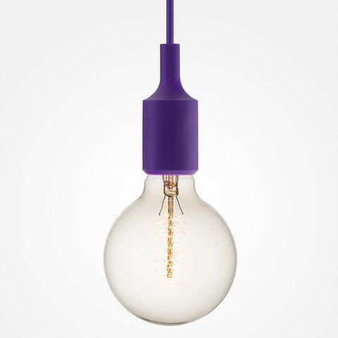 Подвесной светильник Loft SL021 (Фиолетовый)