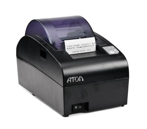 Фискальный регистратор АТОЛ-55Ф черный, ФН 15 мес., RS+USB+Ethernet
