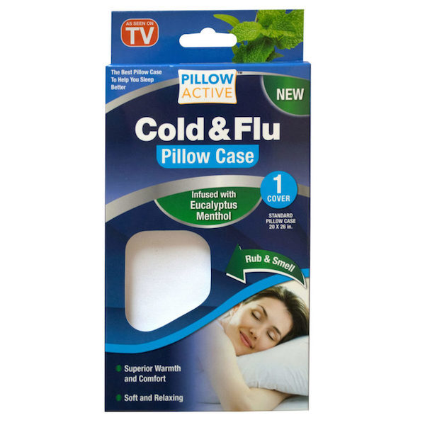 Товары для дома Антибактериальная наволочка для подушки Cold & Flu Pillow_Active_Cold.jpg