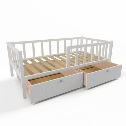 Ящики (комплект 2 шт) для кровати Софа 160х80 фасад белый