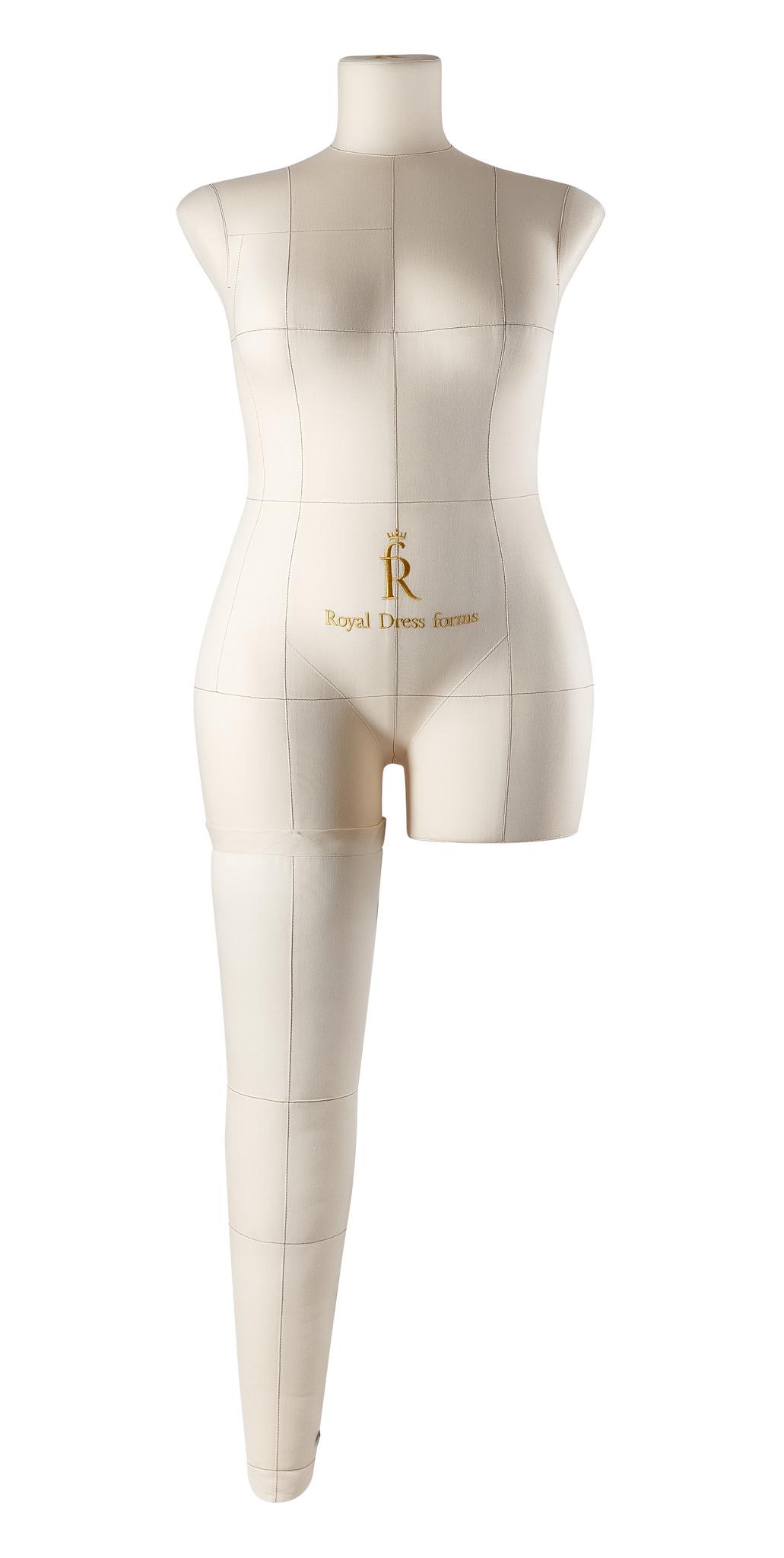 Нога бежевая для манекена Моника, размер 50