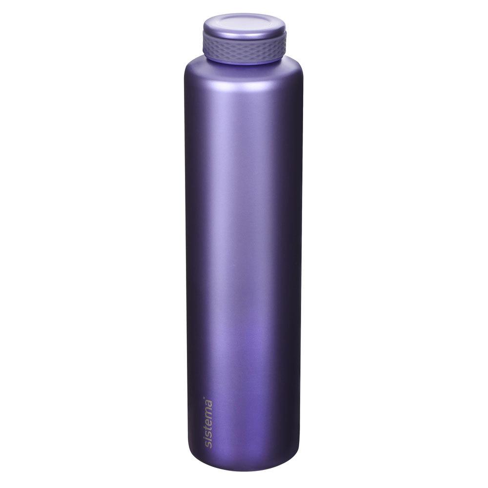 "Термобутылка Sistema ""Hydrate"" 600 мл, цвет Фиолетовый"