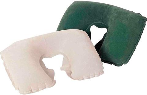Подушка надувная д/путешествий под шею 46х28см 67006