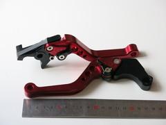 Рычаги ручки тормоза и сцепления Honda VTR 250 CB 400 CB-1 красные