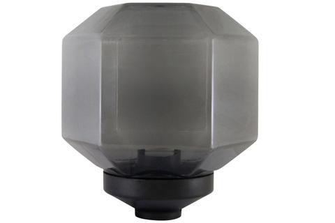 Светильник НТУ 05-100-212 Поликуб IP54 (дымч. ПММА, основание 145, Е27) TDM