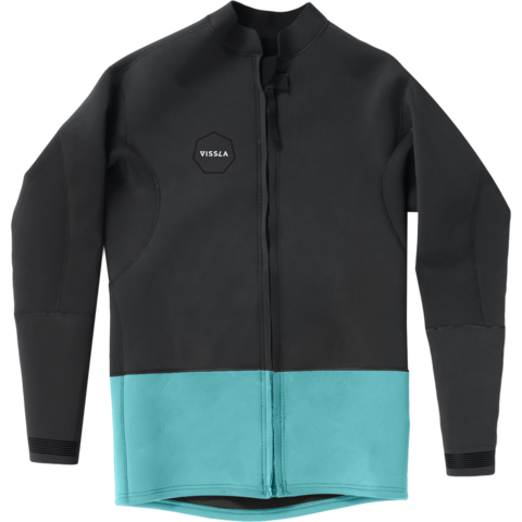 VISSLA 2mm Front Zip Jacket