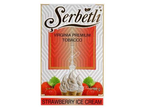 Табак для кальяна SERBETLI STRAWBERRY ICE CREAM 50g