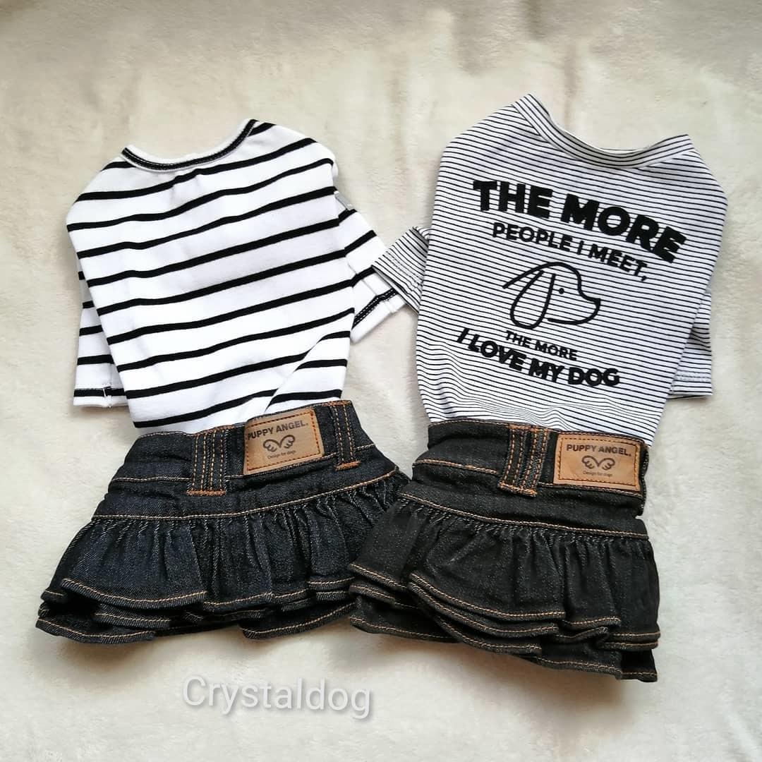 джинсовые юбки для собак Puppyangel