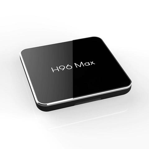 Смарт TV Box H96 MAX X2 Android 9.0 4/32 Гб