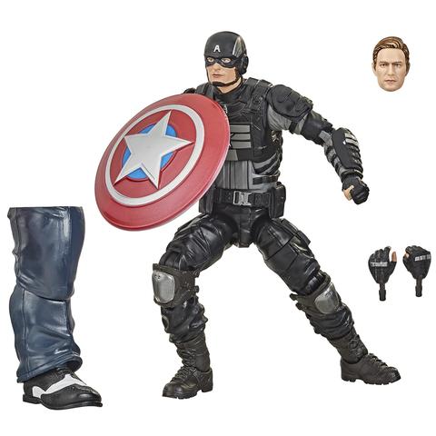 Фигурка Marvel GamerVerse Avengers Captain America Stealth 15см E7347