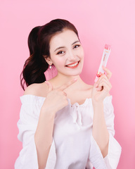 K-Beauty Коллагеновое желе в стиках с Гранатом Collagen Pomegranate Jelly Sticks, 1 стик (20 г*1 шт.)