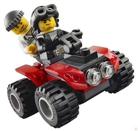 LEGO City: Автомобиль для перевозки заключённых 60043 — Prisoner Transporter — Лего Сити Город
