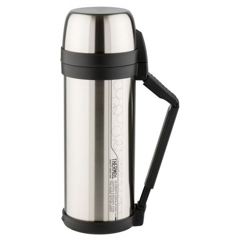 Термос Thermos FDH Stainless Steel Vacuum Flask (923653) 2л. стальной/черный