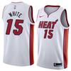 Баскетбольная майка NBA 'Miami Heat/White 15'
