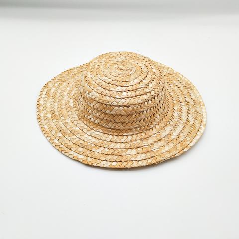 Основа для мини шляпки из соломки   d-21 см.,
