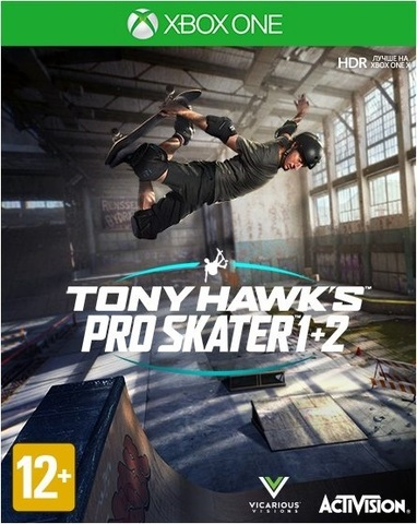 Tony Hawk's Pro Skater 1 + 2 (Xbox One/Series X, английская версия)