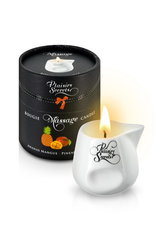 MASSAGE CANDLE PINEAPPLE MANGO 80ML Свеча с массажным маслом Манго и Ананас 80 мл
