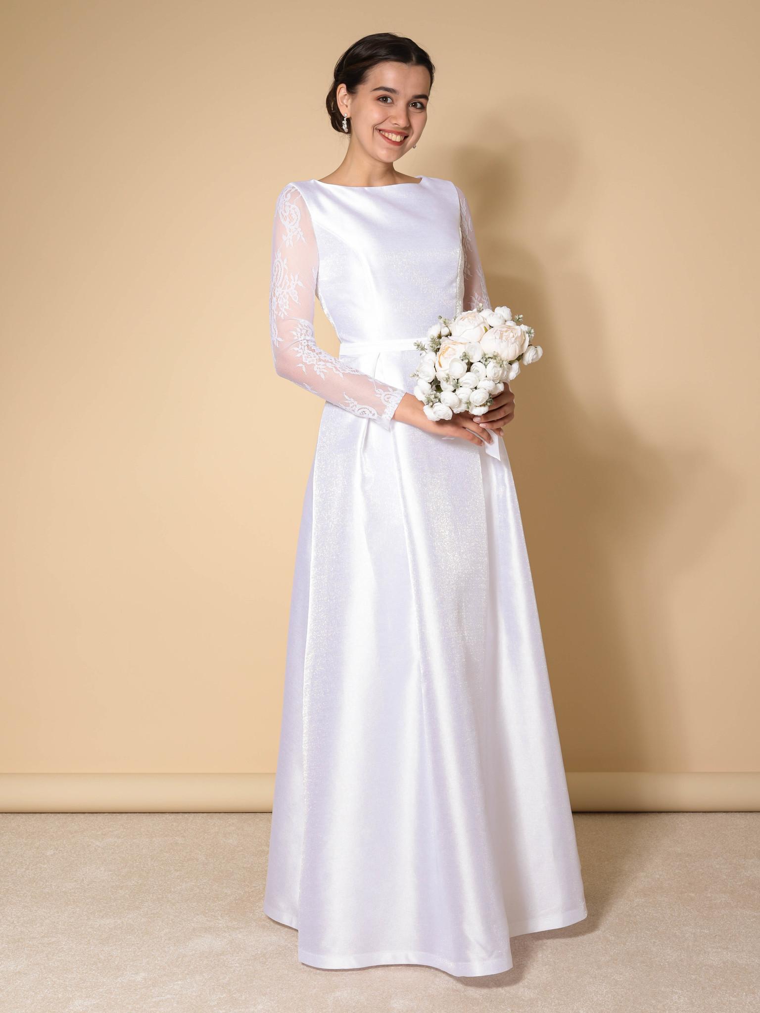 Свадебное платье Классика Блис (белый)