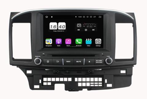 Магнитола для Mitsubishi Lancer X (2007-2015) Android 10 4/64GB IPS DSP модель KD-8065PX5