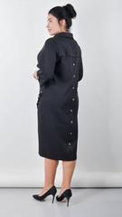 Ріо. Витончена сукня для пишних жінок. Чорний.