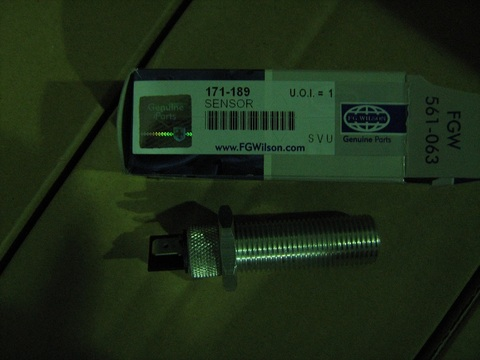 Датчик оборотов коленвала / MAGNETIC PICK-UP 50mm M16 АРТ: 171-189