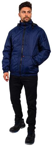 Куртка Бомбер-Люкс демисез.(тк.Дюспо) т.синий