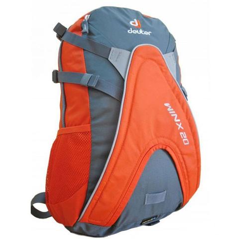 Картинка рюкзак для роликов Deuter Winx 20 Granite-Papaya - 1