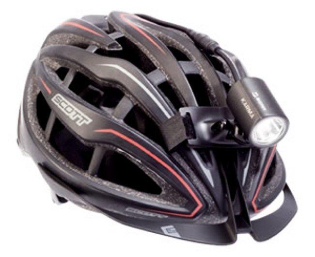 Крепление SIGMA для фар Powerled на шлем с кабелем