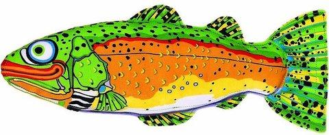 Игрушка для собак -Рыба, большая, мягкая, плавающая,