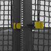 Батут Unix 12 ft Black&Brown inside - 3,66 м