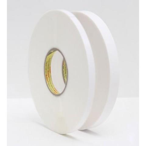 Прозрачный вспененный двусторонний скотч 3М, толщина - 1,5 мм