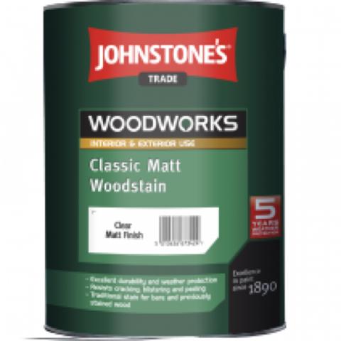 JOHNSTONE'S CLASSIC MATT WOODSTAIN/ДЖОНСТОУНС Защитный состав для древесины